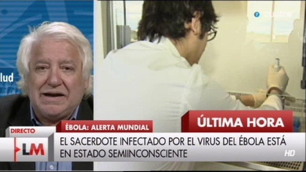 """Gregory Härtl, portavoz de la OMS: """"El riesgo en España por ébola es casi cero"""""""