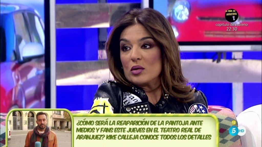 """Raquel Bollo, de la reaparición de la Pantoja: """"No creo que yo pinte allí nada"""""""