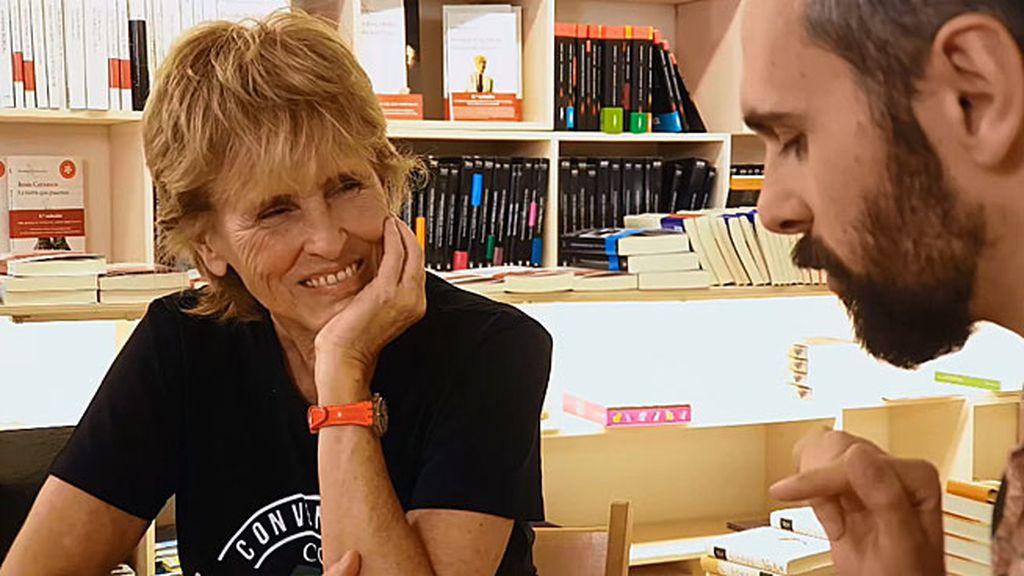 """Sergi es rotundo: """"Los libros a mí me han salvado la vida"""""""