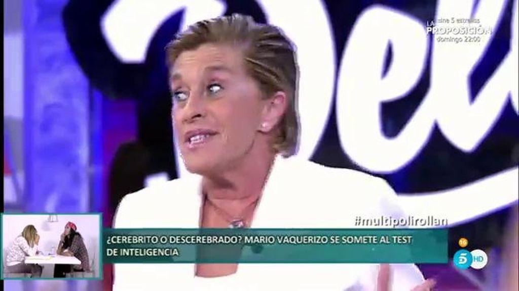 """Chelo García estalla: """"Estoy hasta las narices, mi cama no es ninguna una noria"""""""