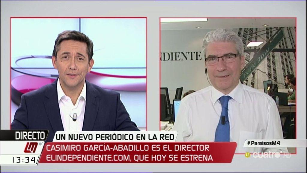 """Casimiro García-Abadillo: """"Hacienda somos todos, pero unos más que otros"""""""
