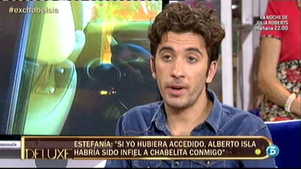"""Manuel: """"Yo podría haber sido el padre del hijo de Chabelita. Ella está como una cabra"""""""