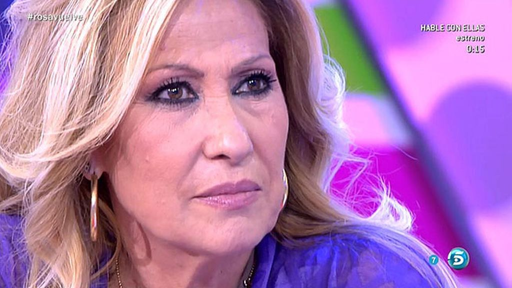 """Rosa Benito: """"A lo mejor Chayo tiene razón y, al estar aquí, la hago daño"""""""