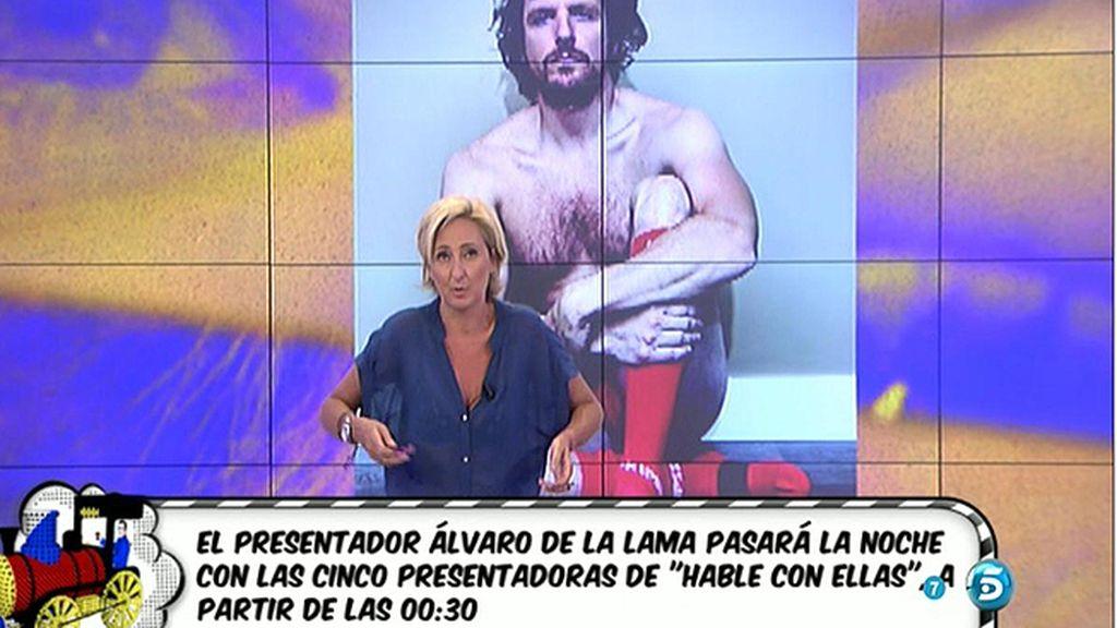 Álvaro de la Lama, portada de 'Primera Línea', estará en 'Hable con ellas'