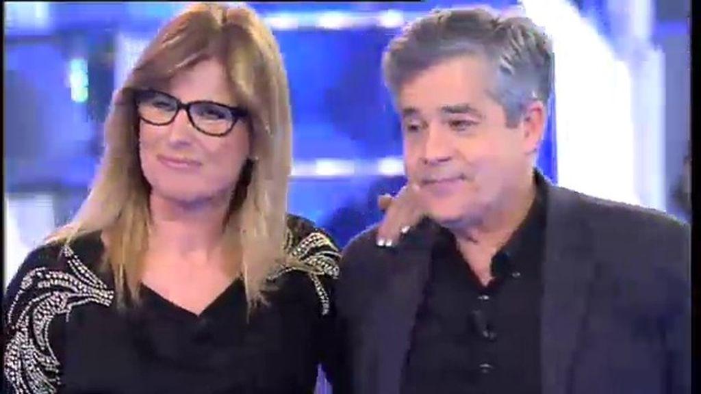Carlos Iglesias, emocionado por la sorpresa de Belén