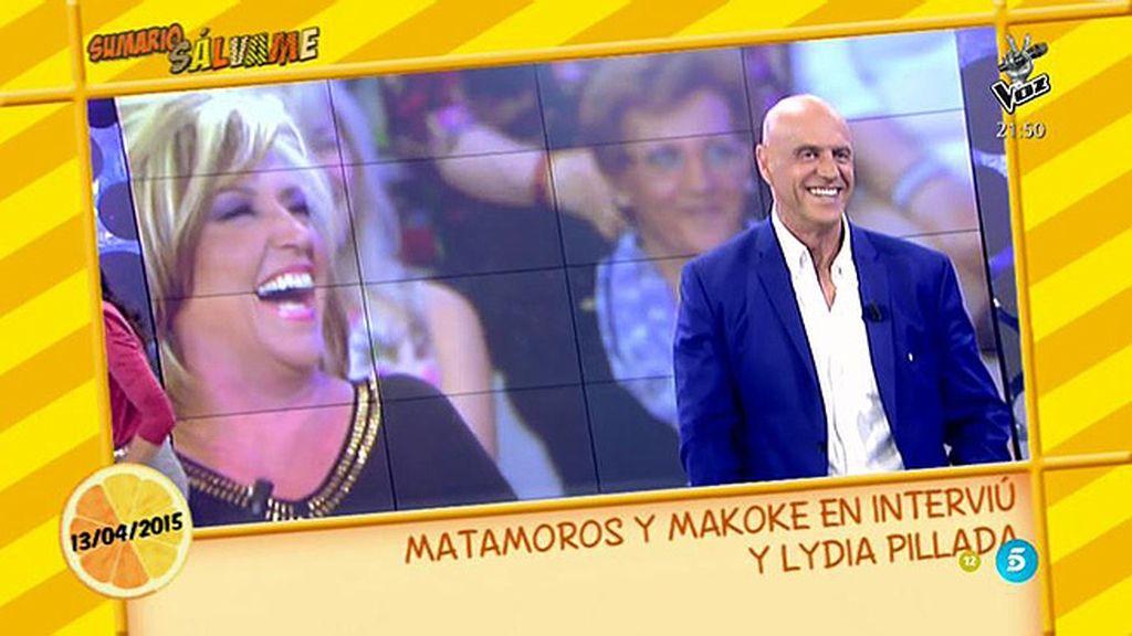 """Lydia Lozano: """"Kiko Matamoros tiene como el título... unas sombras"""""""
