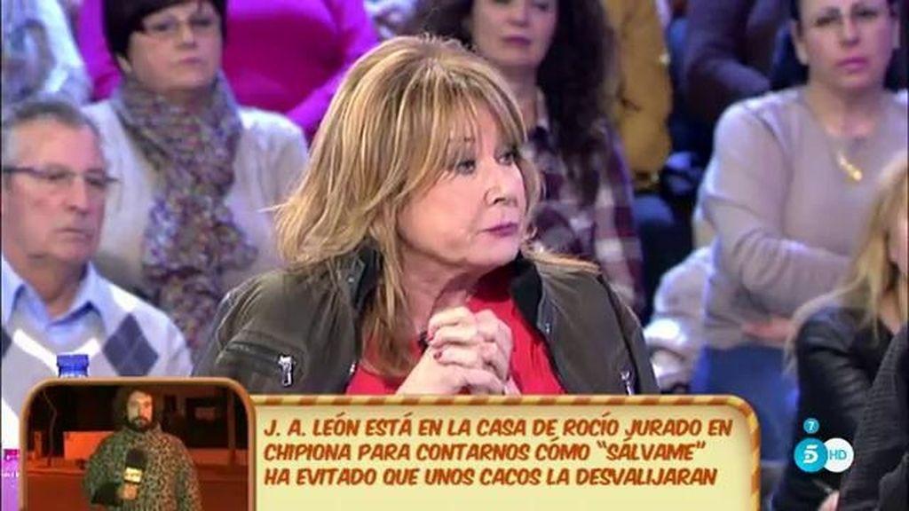 """Mila Ximénez: """"Presuntamente, Javier Tudela padre ha decidido que Javier se independice e incluso quitarle del testamento"""""""