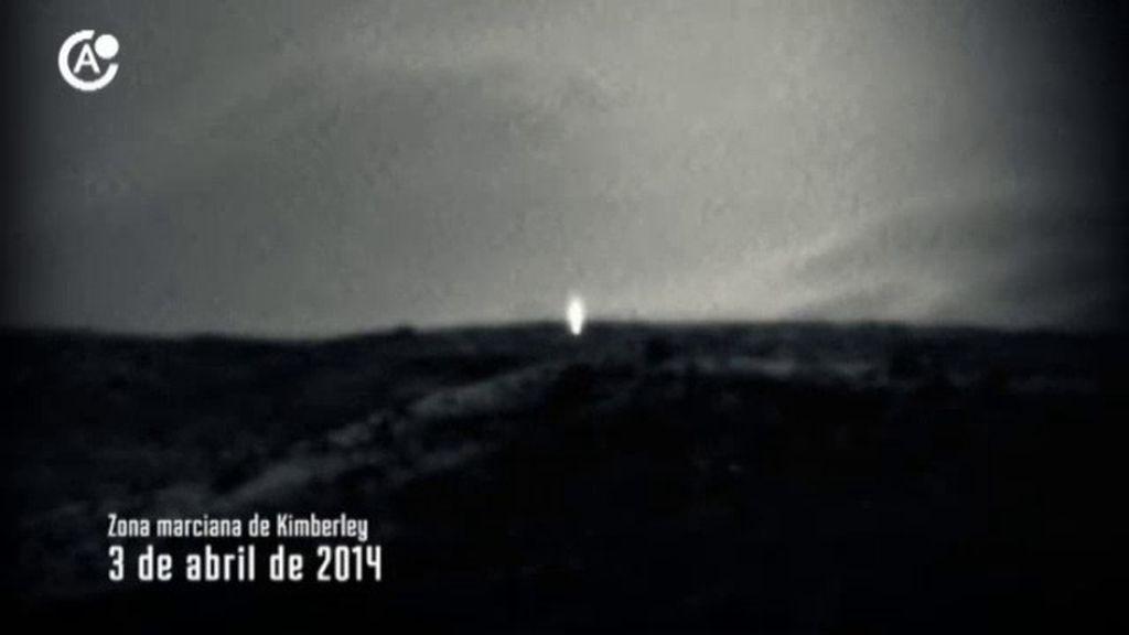 El enigma de la luz de Marte