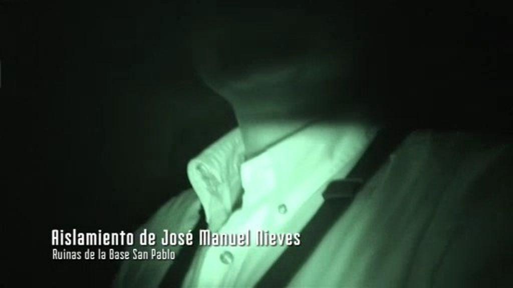 """J. M. Nieves: """"No creo en estas cosas pero escuché un ruido que me erizó la piel"""""""
