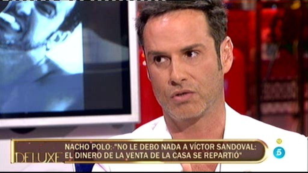 """Nacho Polo: """"Yo he vivido por y para Víctor Sandoval, no he sido un mantenido"""""""