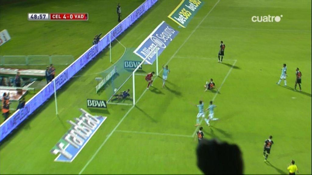 Gol de Mitrovic (pp) (Celta 4-0 Valladolid)