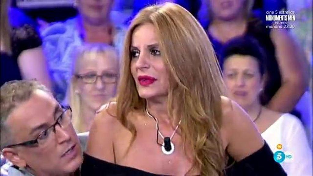 Sonia Monroy llora de impotencia tras las acusaciones del ex marido de Yola