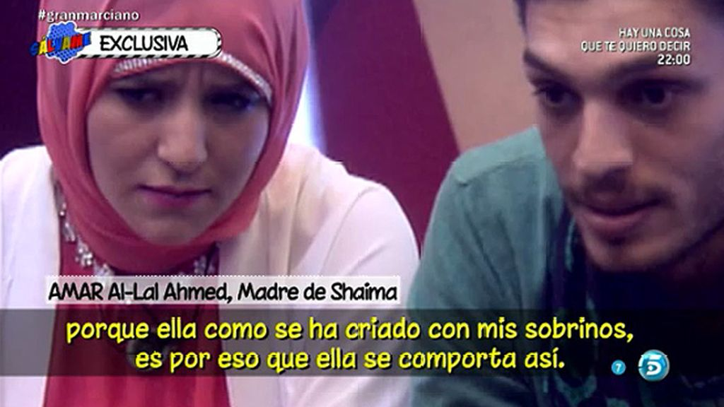 """Amar, madre de Shaima: """"Quiero que mi hija salga de 'Gran Hermano"""""""