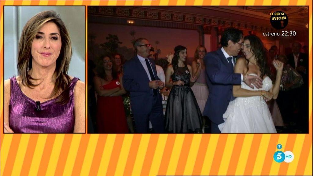 El baile nupcial de Paz Padilla y su marido