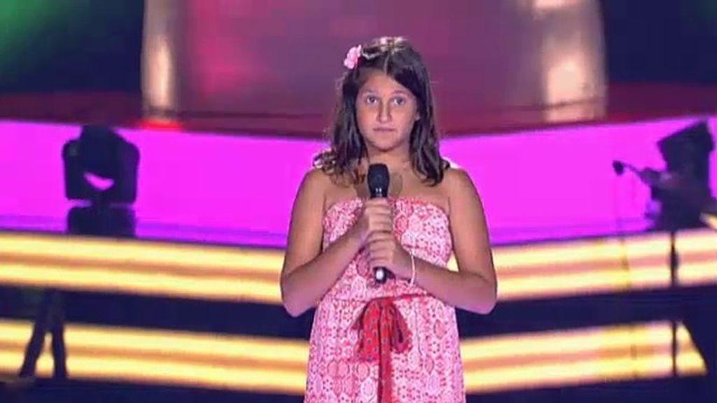La actuación de Sara: 'Tanto'