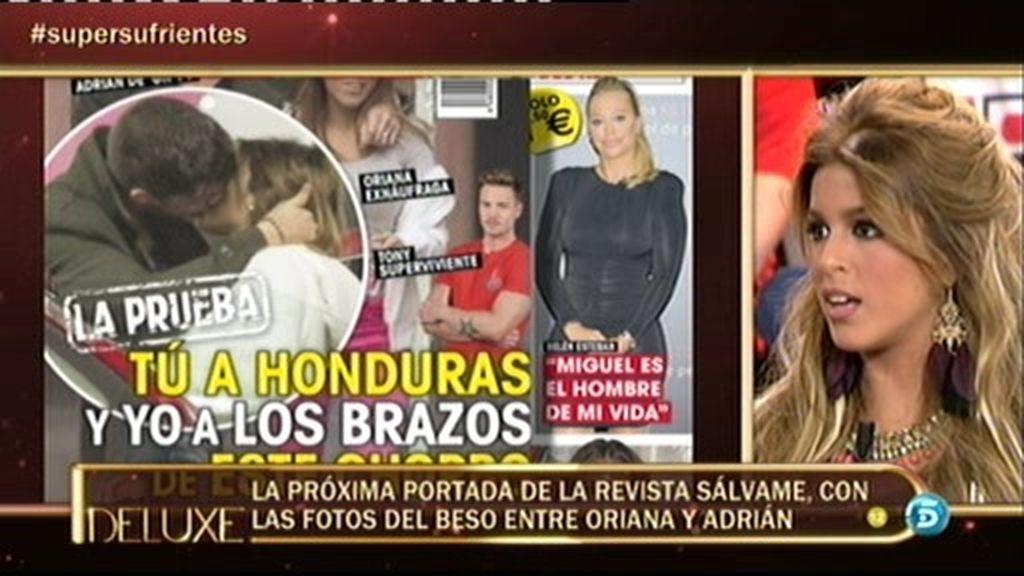 """Kiko Hernández, a Oriana sobre su infidelidad: """"Hay un vídeo del beso"""""""