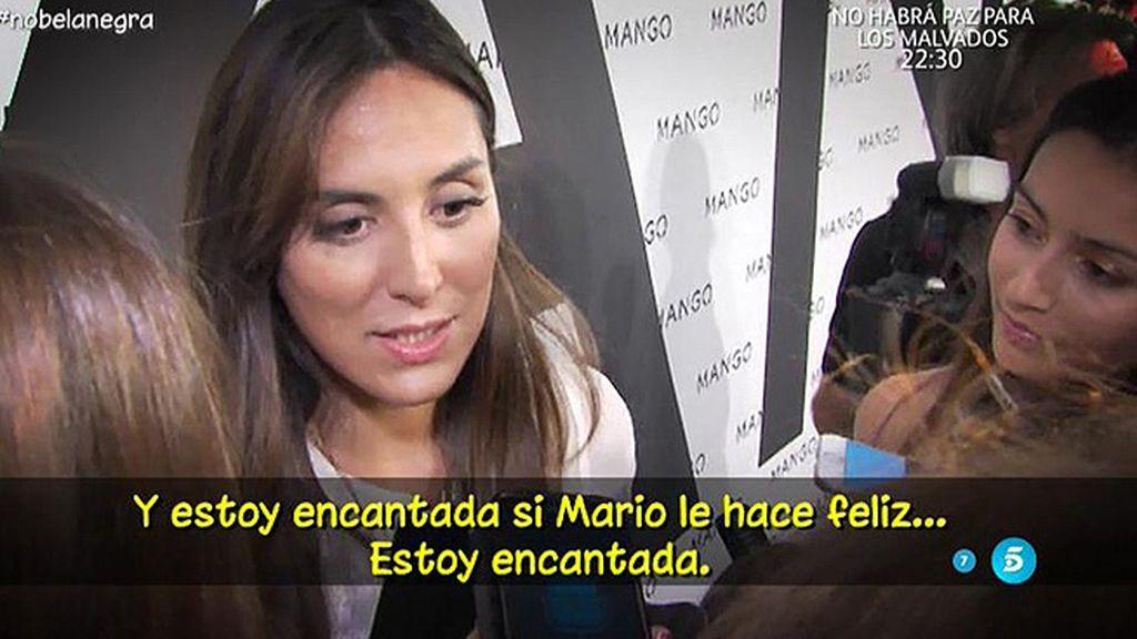 """Tamara Falcó, de su madre y Vargas Llosa: """"Les veo encantados"""""""