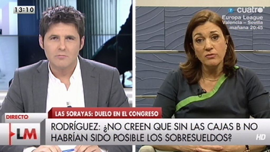 La entrevista a Soraya Rodríguez, online