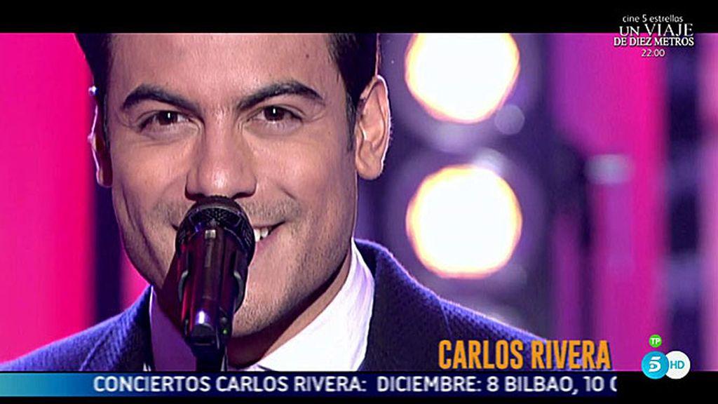 ¡Carlos Rivera revoluciona nuestro plató!