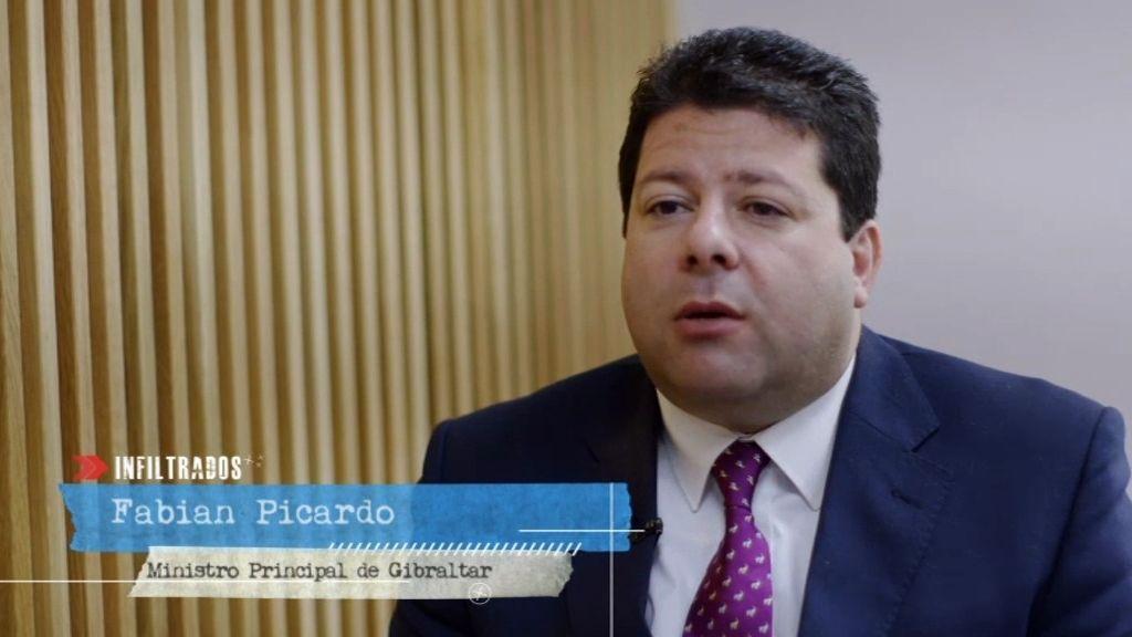 "Picardo, Ministro de Gibraltar: ""Si le pregunta al jefe del F.M.I. le dirá que Gibraltar no es un paraíso fiscal"""