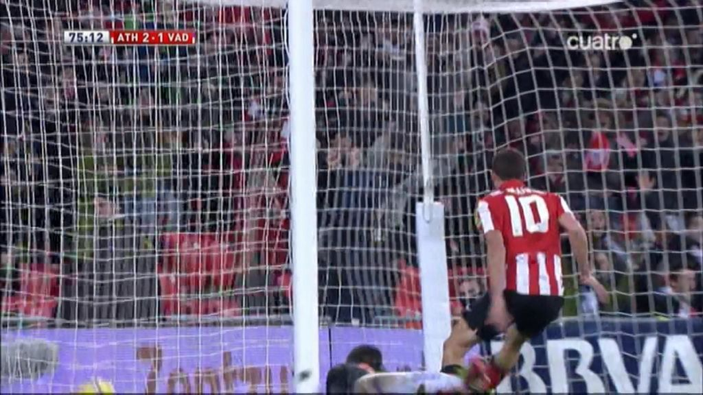 Gol de De Marcos (Athletic 2-1 Valladolid)