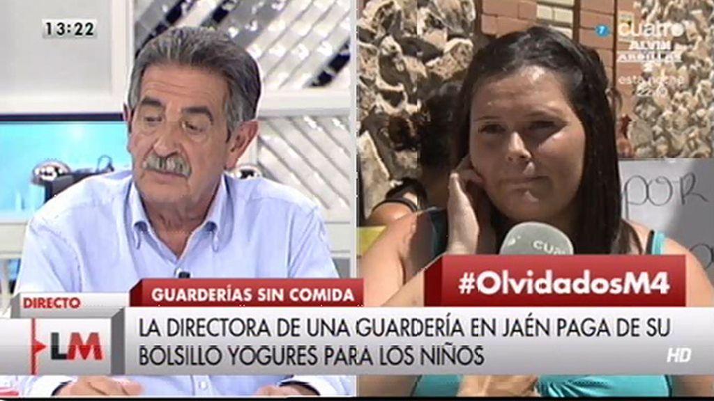 """Revilla, al alcalde de Jaén: """"No tiene otra prioridad que dar de comer a esos niños"""""""