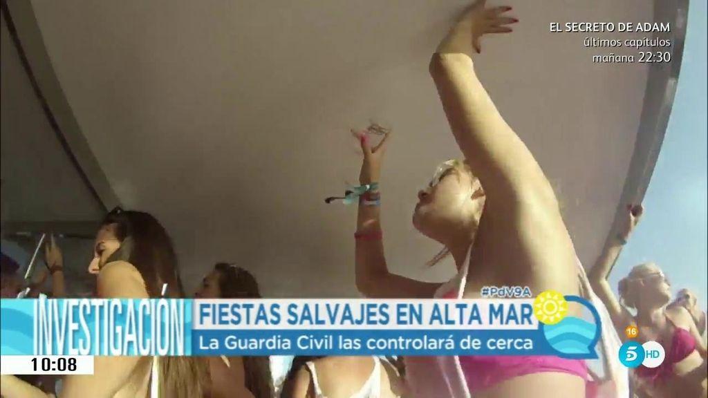Desmadre en las 'Partyboat'  de Mallorca: Conoce lo que ocurre dentro