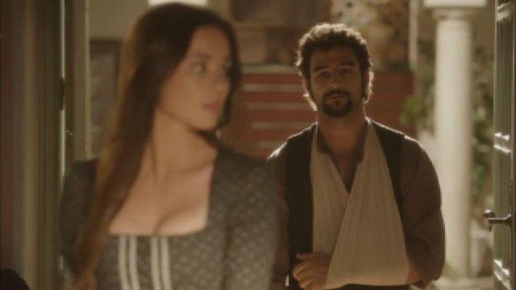 Aníbal le pide matrimonio a Nieves