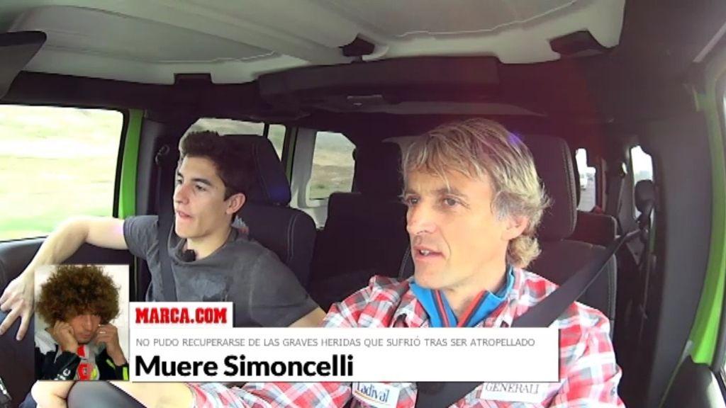 """Márquez, sobre Simoncelli: """"Cuando corres no te imaginas que puede pasar"""""""