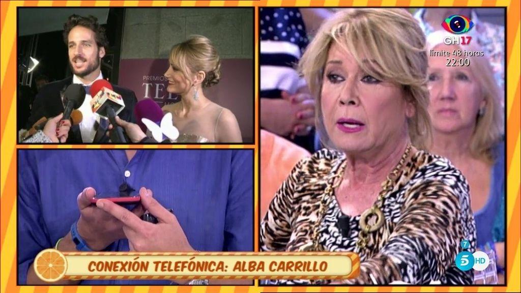 Alba Carrillo desmiente a Lydia Lozano y se enfada con Mila Ximénez