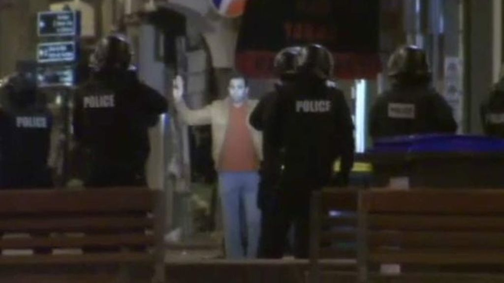 Detención en el barrio de Saint Denis