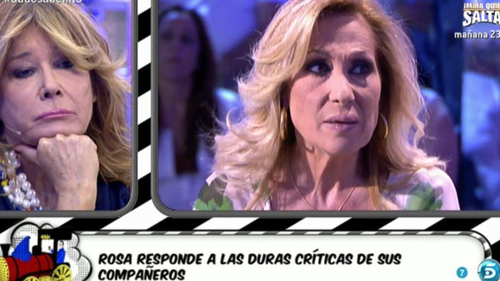 """Mila Ximénez, a Rosa Benito: """"El personaje te ha engullido y ya no tienes ningún filtro"""""""