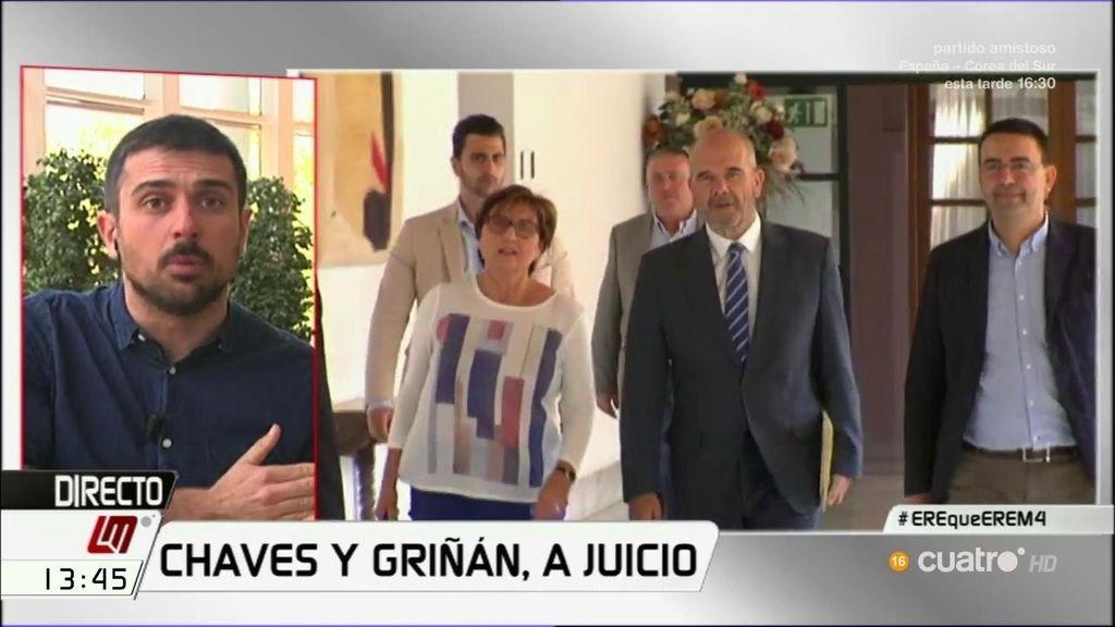 """Ramón Espinar, tras el procesamiento de Chaves y Griñán: """"Es otra cara de un entramado de corrupción estructural"""""""