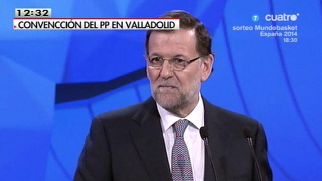 """Mariano Rajoy: """"Los españoles nos hemos rescatado nosotros solos"""""""