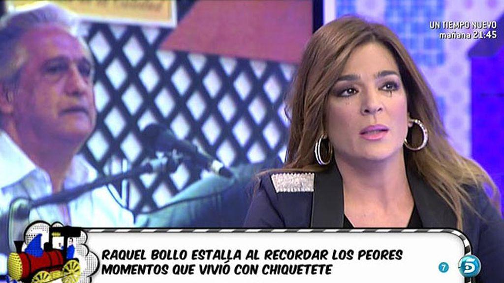 """Raquel, a Chiquetete: """"No me hagas hablar de lo que hacías con la Junta de Andalucía"""""""