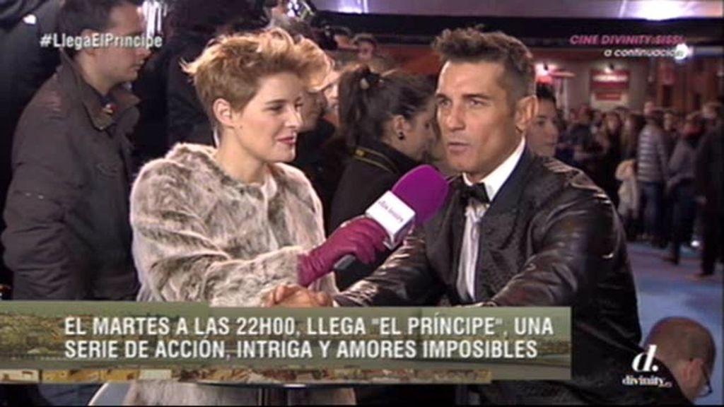 """Jesús Vázquez: """"El Príncipe' es es un lujo"""""""