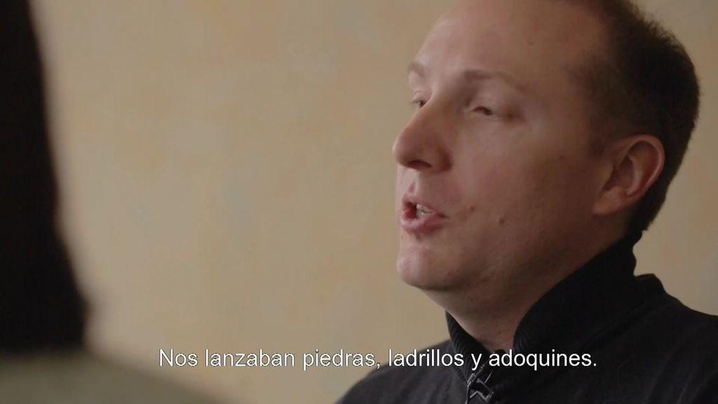 Alejandra entrevista a Alek, uno de los activistas LGTB más combativos de Rusia