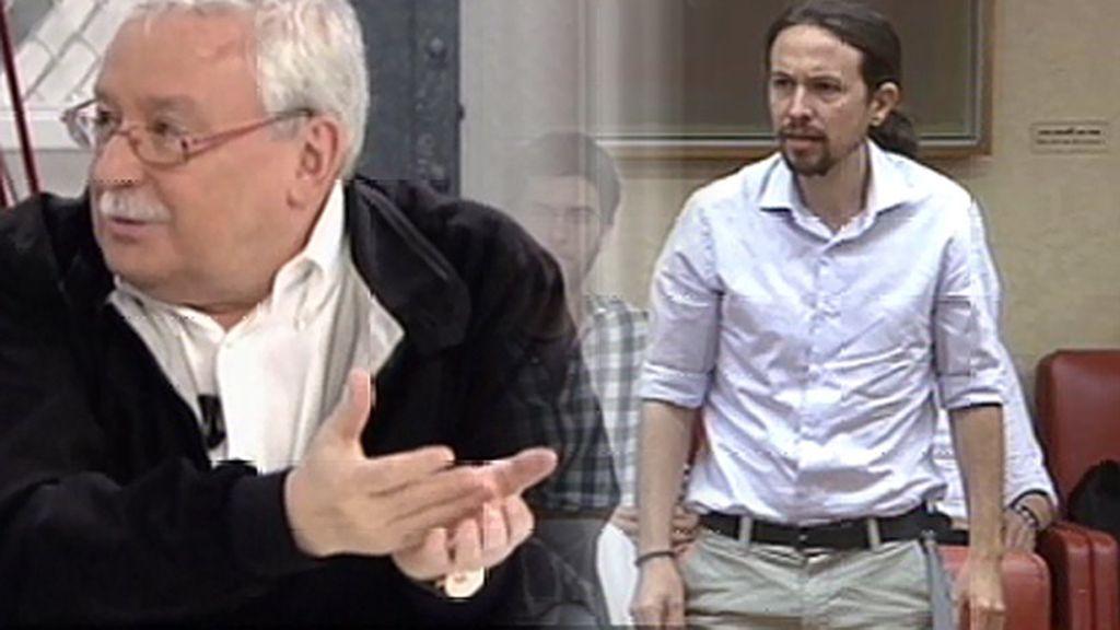 """Leguina califica como """"friki"""" la forma en que Pablo Iglesias prometió acatar la Constitución"""