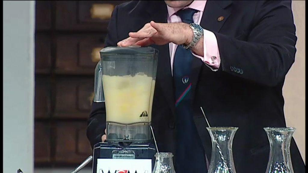Así se hace un cóctel: piña colada