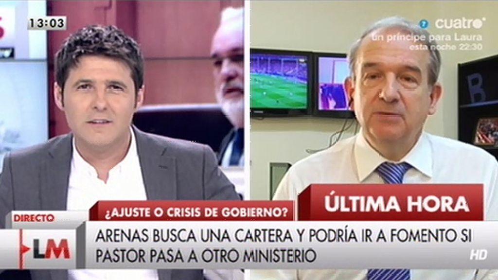 "Apezarena: ""Hay tres Ministerios en danza"""