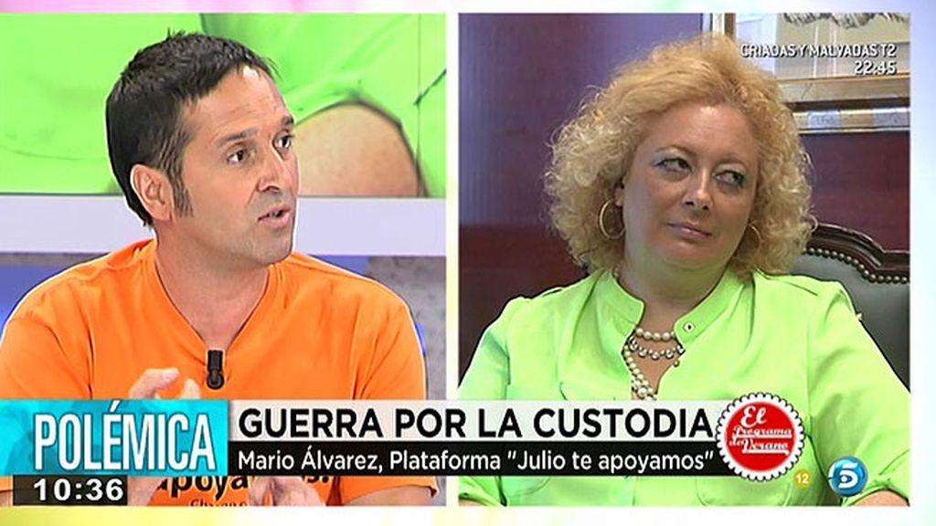 """Mario Álvarez, Plataforma 'Julio te apoyamos': """"Julio apenas conoce a sus abuelos"""""""