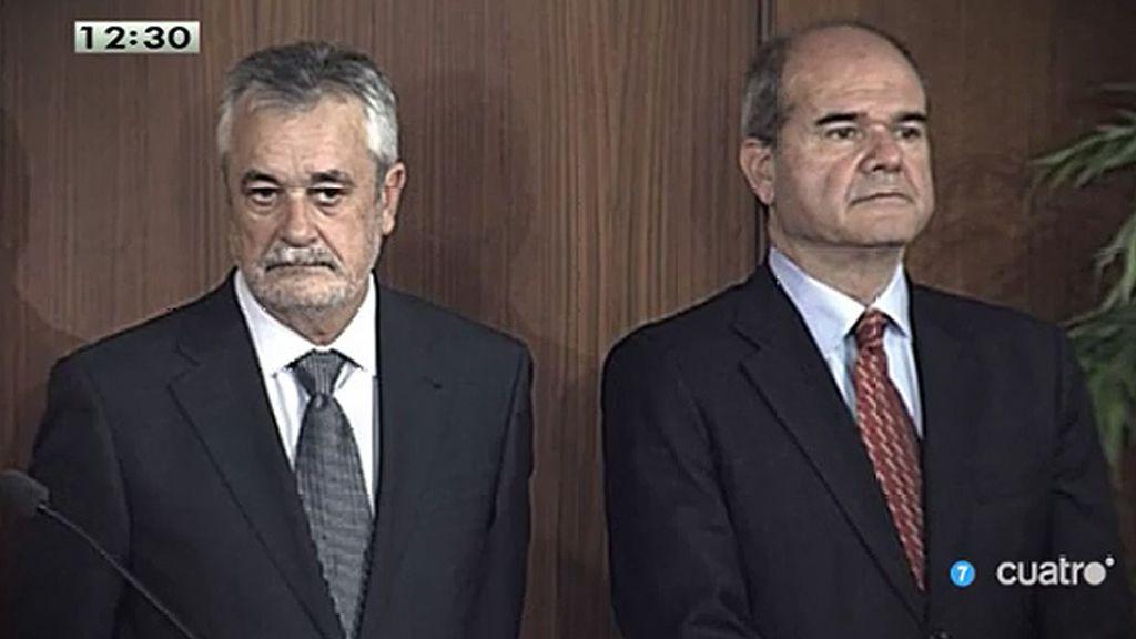 Jose Antonio Griñán presta declaración como imputado en el caso de los ERE