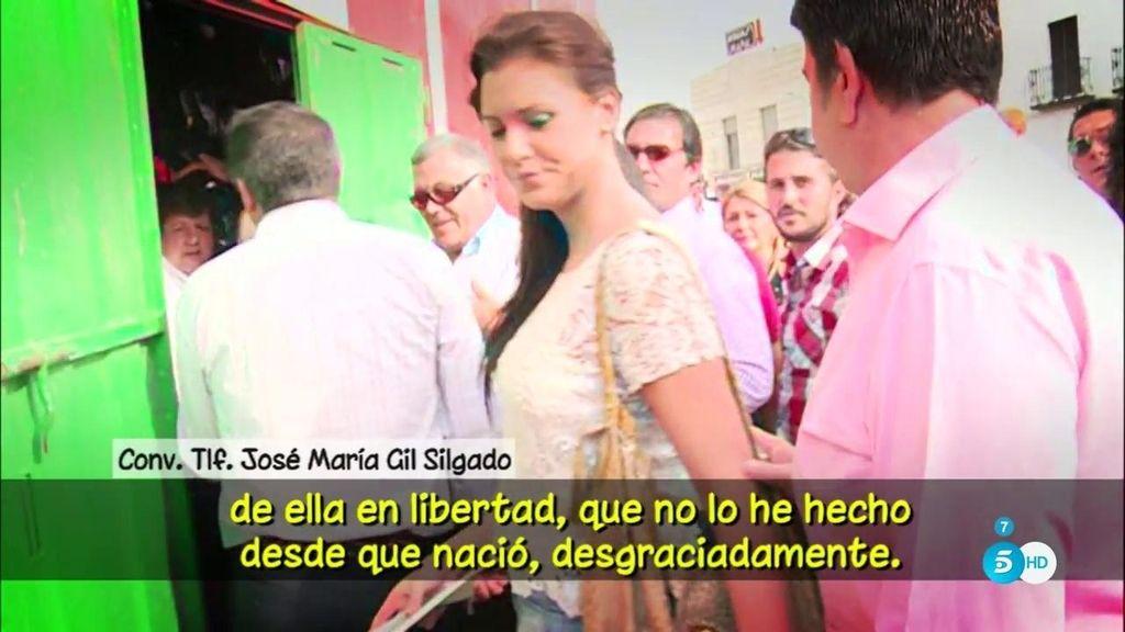 """José María Gil Salgado, tras recibir la libertad: """"lo único que deseo es poder ver a mi hija"""""""