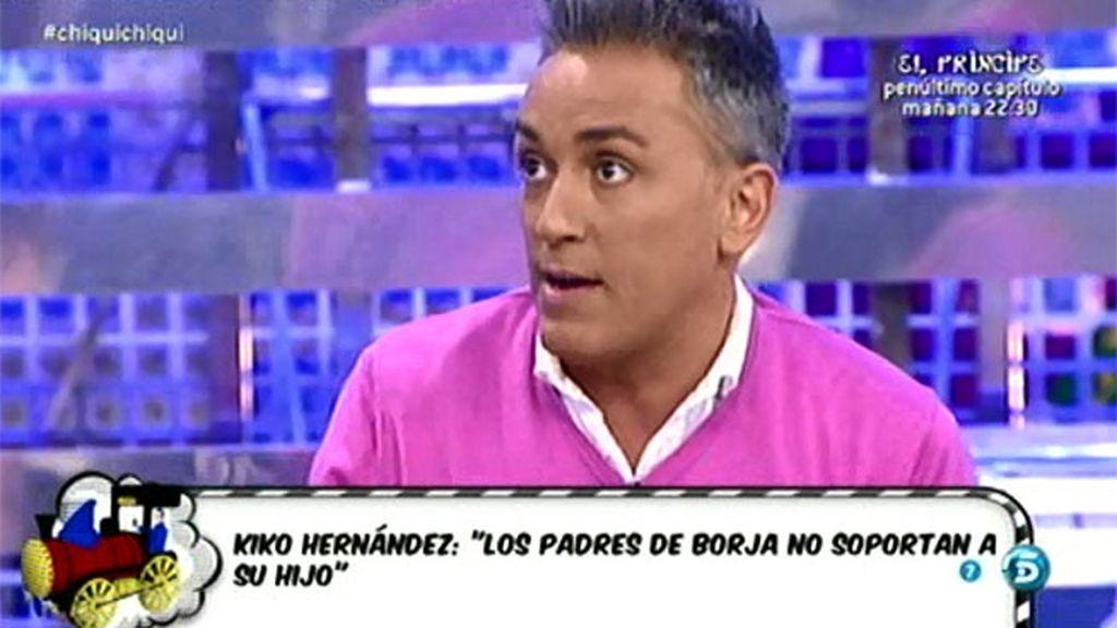 """Kiko H., sobre Borja: """"Es un vago, no hace absolutamente nada"""""""
