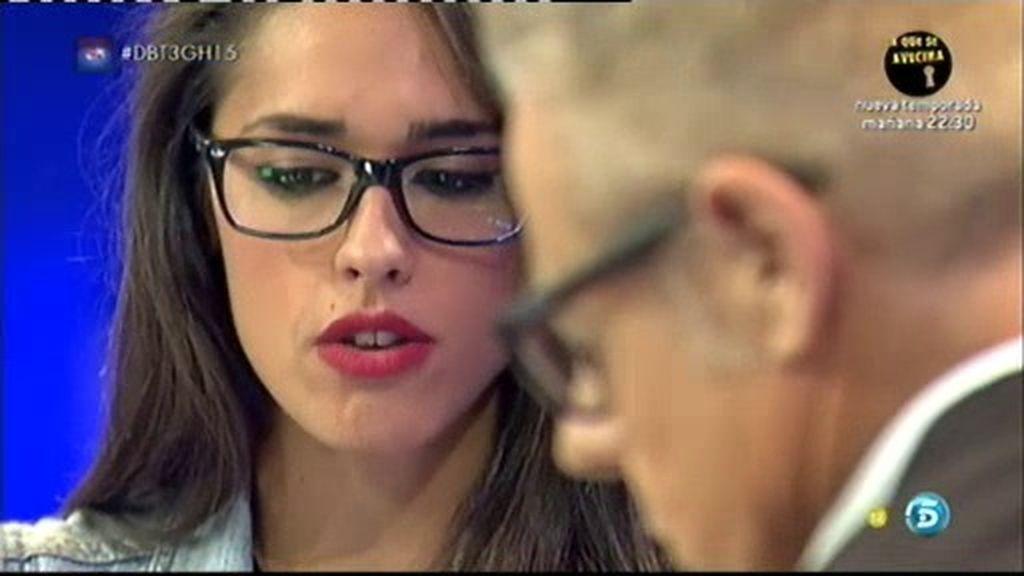 """Lucía: """"Los amigos de Omar tuvieron un gesto feo conmigo el día de mi expulsión"""""""