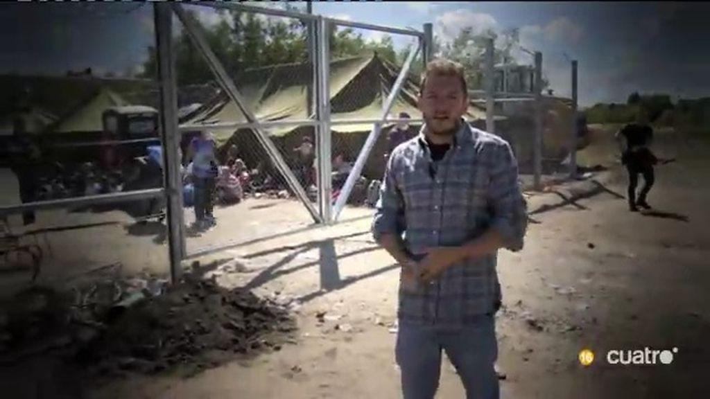Sin comida y sin agua, toda la verdad sobre los campos de refugiados en 'UTN'