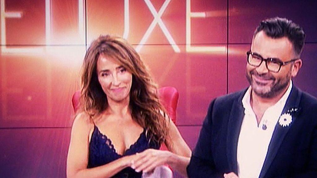 Así ha sido el paso de María Patiño como presentadora del Deluxe