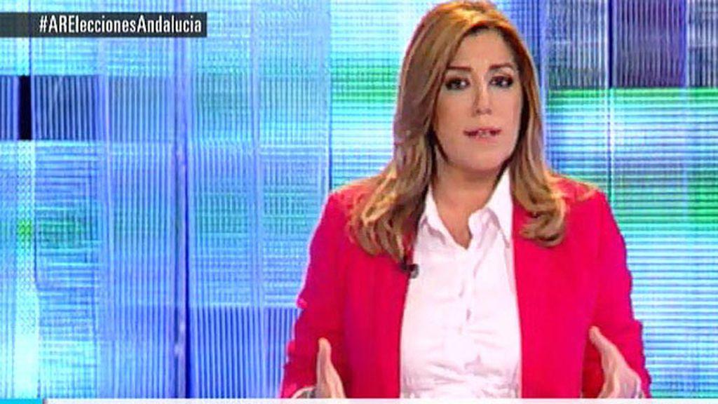 Primer debate cara a cara de los candidatos de PSOE, PP e IU en Andalucía