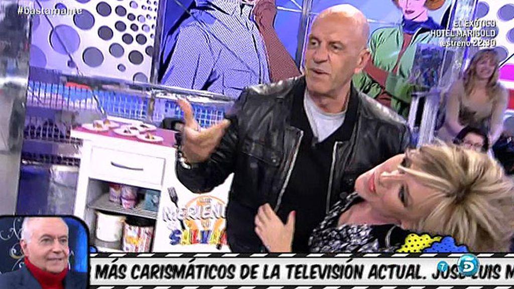El 'no-beso' de Matamoros y Lydia