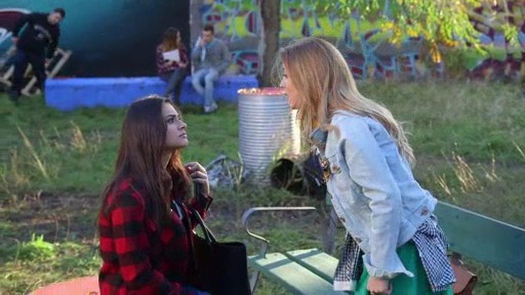 La amistad de Natalia y Camila en peligro por el certamen musical